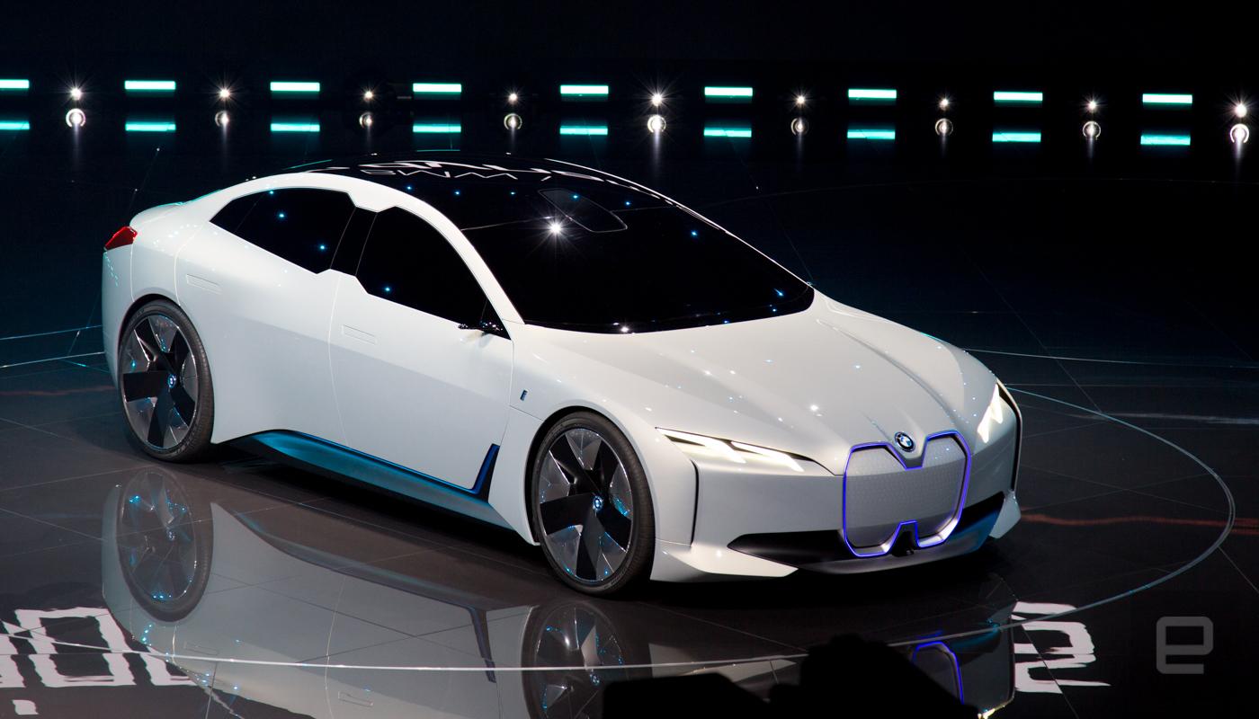 BMW desvela su increíble coupé eléctrico i Vision Dynamics