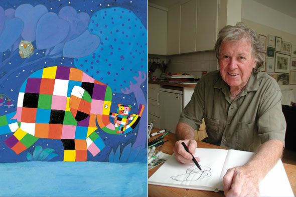 Elmer author David McKee on embracing difference, reluctant readers and patchwork elephants