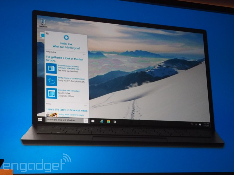 Cortana llega oficialmente a tu escritorio con Windows 10