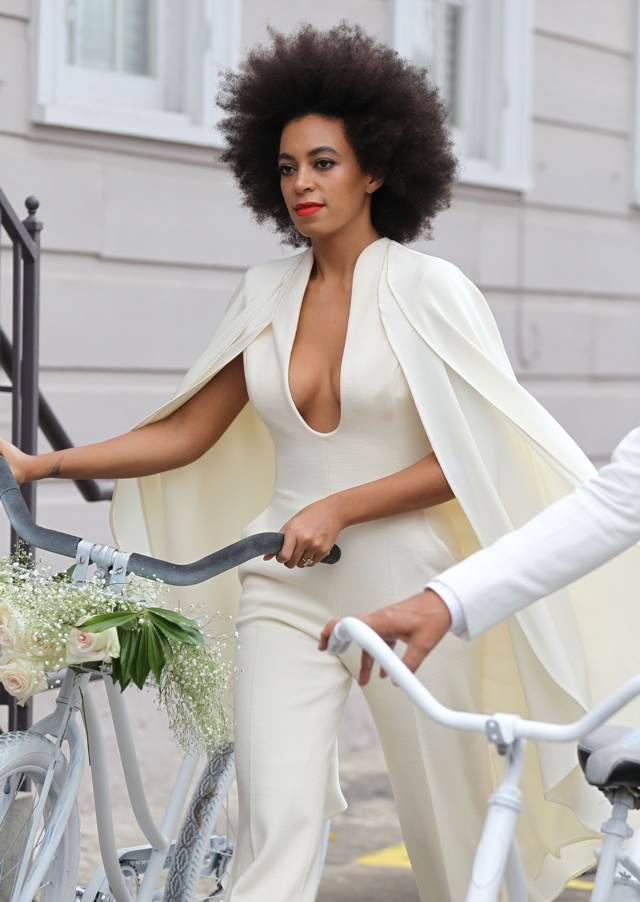 Solange Knowles suffers with hives on her wedding day