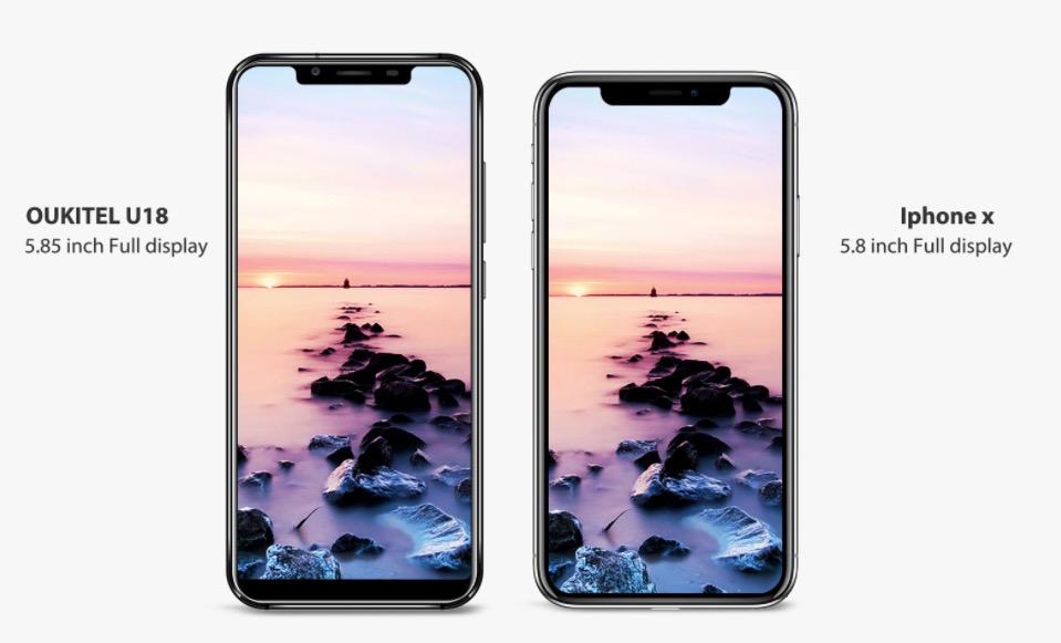 Oukitel iphone