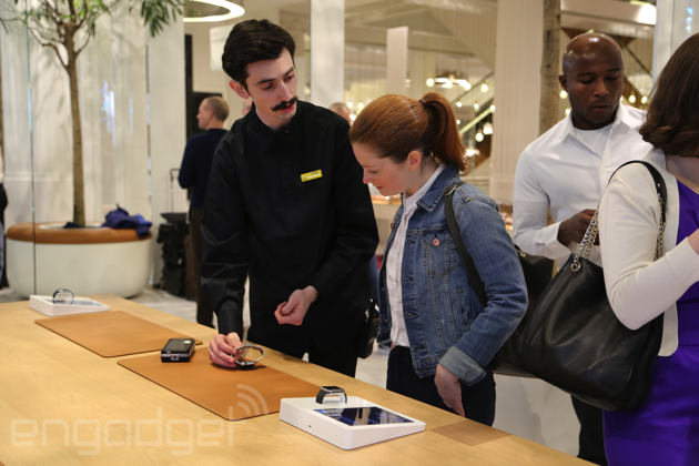 What it's like to shop for an Apple Watch