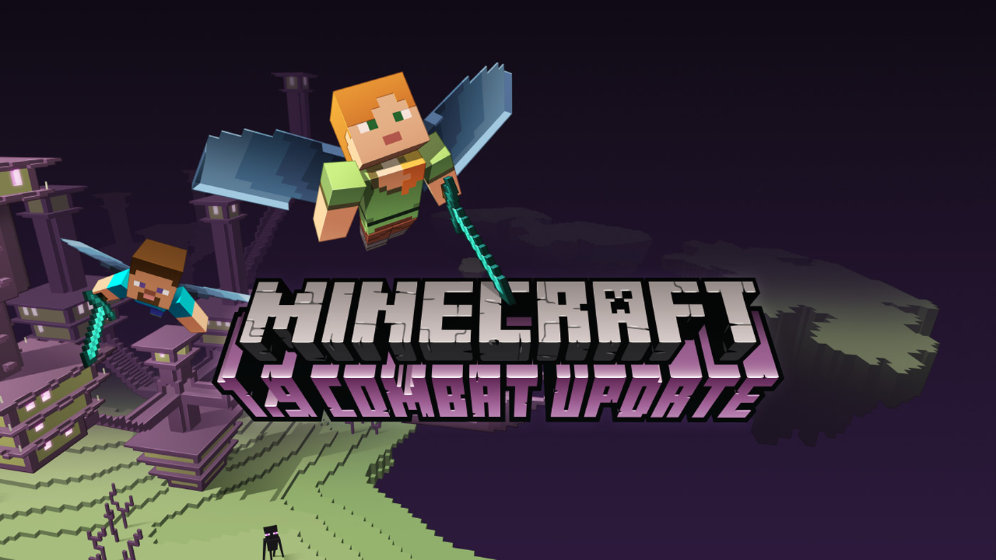'Minecraft' update puts items in both hands