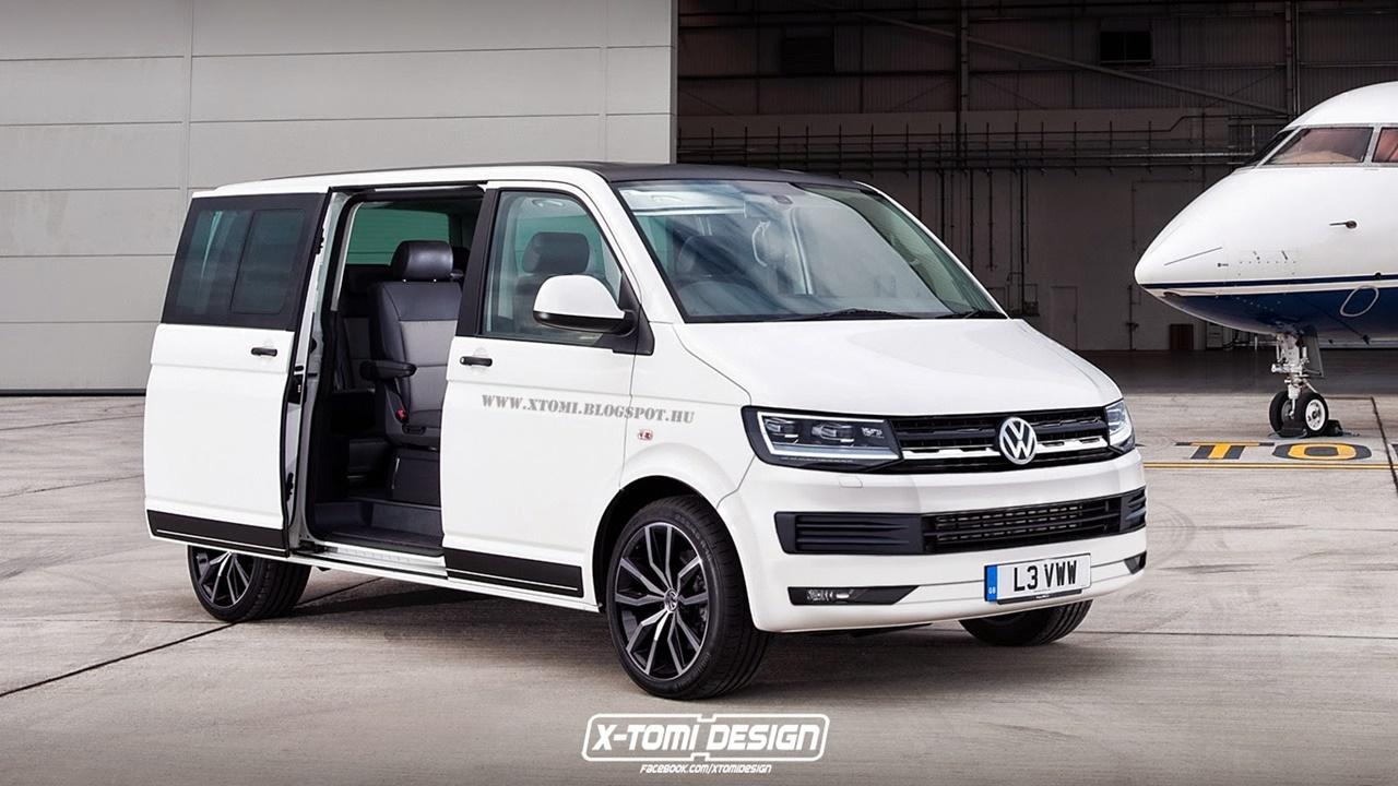 Vorgucker: So kommt der VW Bus T6 Multivan