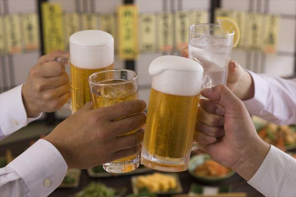 【居酒屋一杯目診断】1杯目にビールよりチューハイを頼む人の方が仕事ができる?