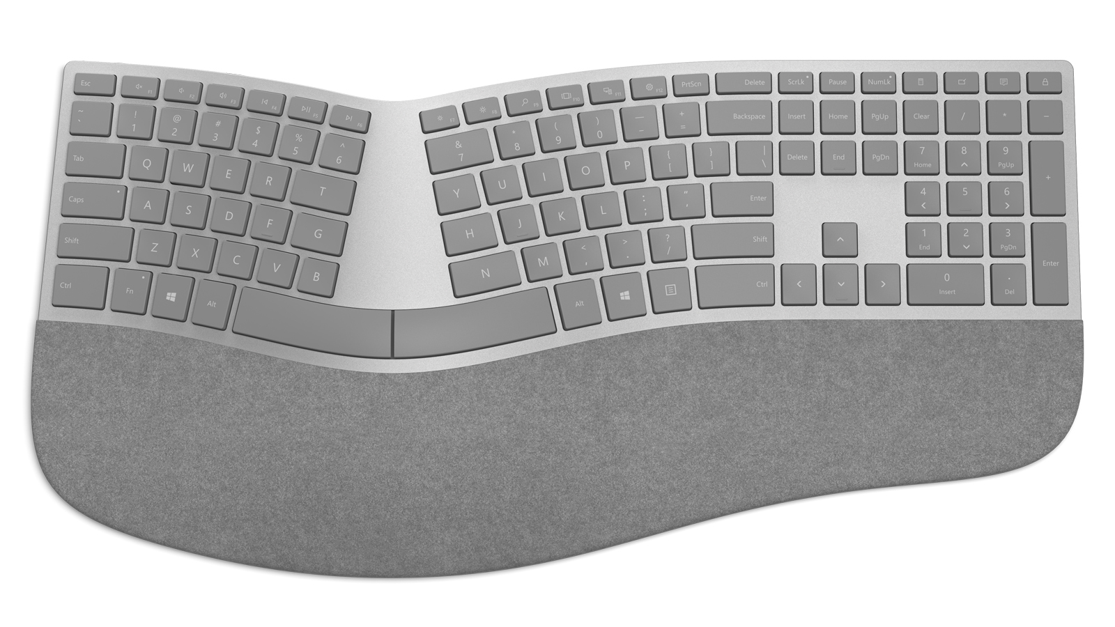 Microsoft unveils an ergonomic keyboard for Surface fans