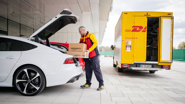 Amazon shows off its straight-to-Audi delivery trial