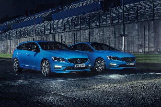 ボルボの、改良された高性能モデル「S60ポールスター」と「V60ポールスター」を発表