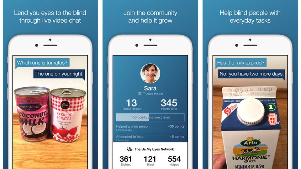 Be My Eyes Iphone App Lets You Help The Blind Using