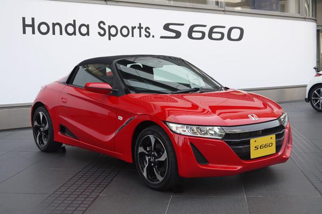 Honda S66 >> ホンダ、軽自動車の新型オープン・スポーツカー「S660」を発表!(後編) - Autoblog 日本版