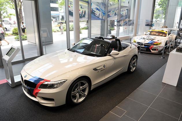 BMW Group Studioで、「Z4」限定モデルと「Z4 GT3」「M3」「M4」の4台が展示中!