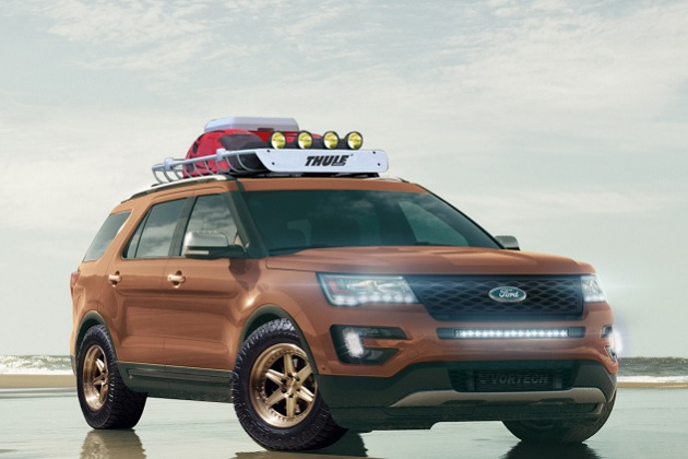フォード、スポーティーで刺激的に仕立てた4台の「エクスプローラー」をSEMAに出展