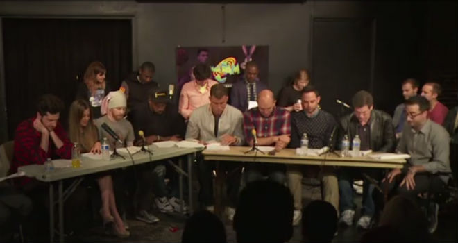 space+jam+live+reading This Space Jam Live Reading Is Almost as Ridiculous as the Movie (VIDEO)