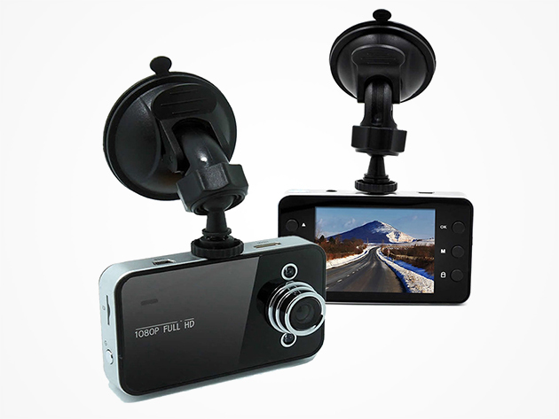 DashCam Hi­Res Car Video Recorder Camera