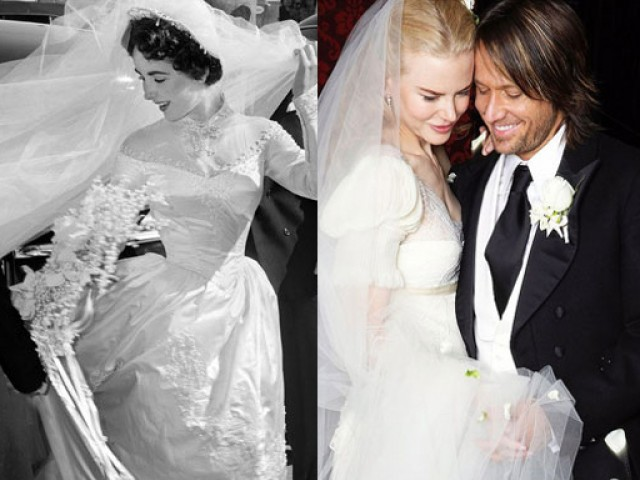 The 50 most beautiful celebrity wedding dresses