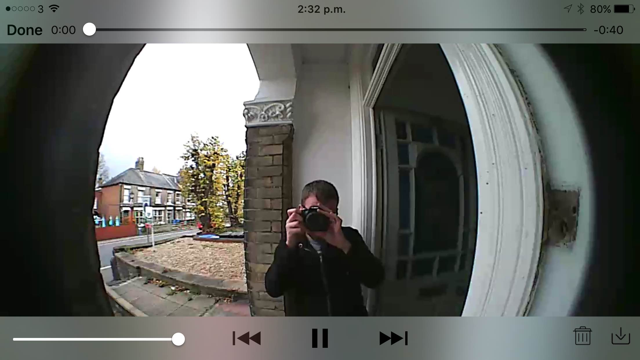 Ring's video doorbell lets me banish unwanted visitors