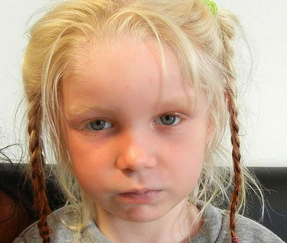 Gypsy girl Maria is to be cared for by a children's charity