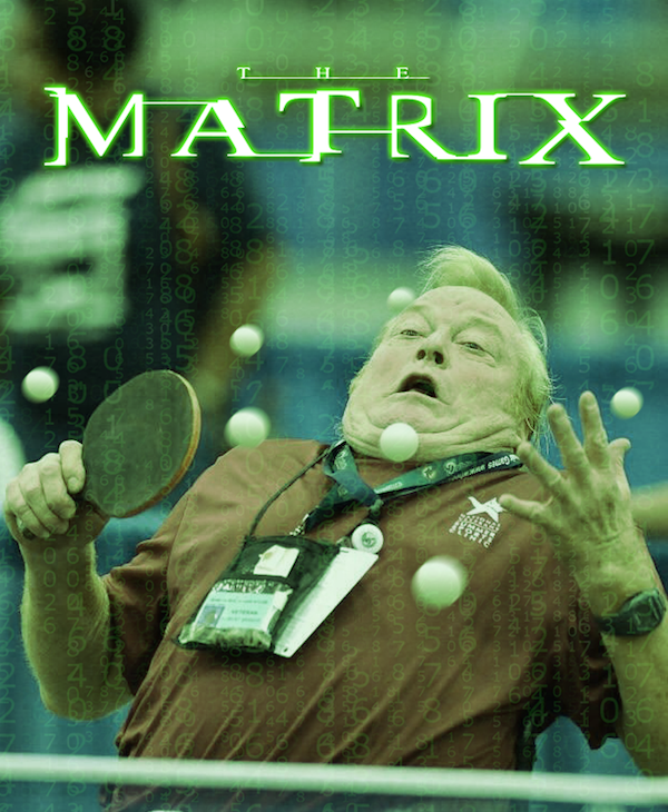 Terrified Olympic Ping Pong Player Is A Gift To The Internet Photoshop Gods