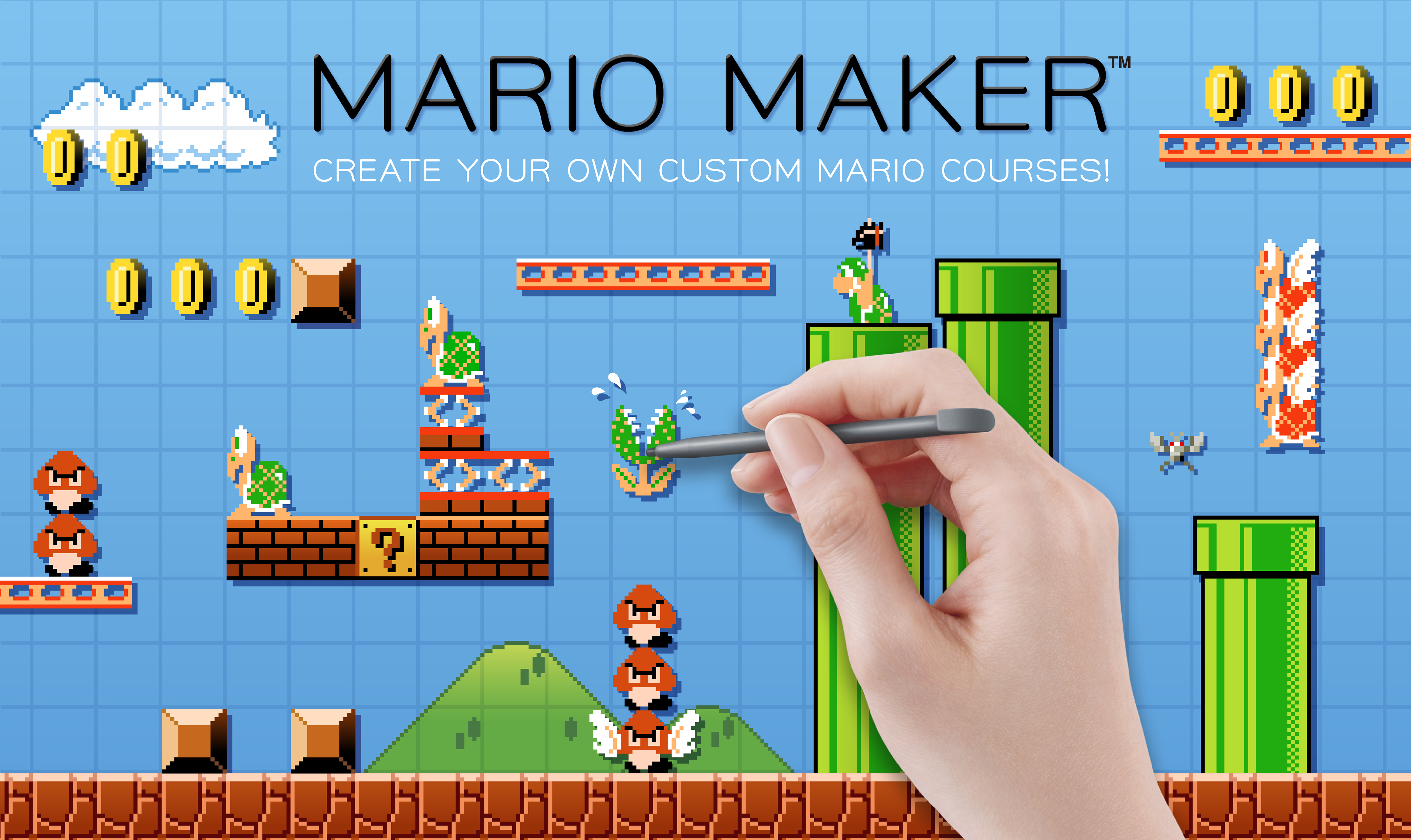 Mario Maker puts a new spin on the NES classic