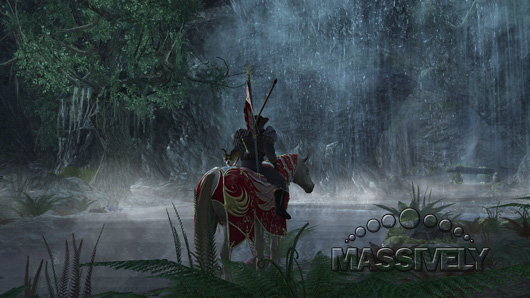 Fangorn waterfall