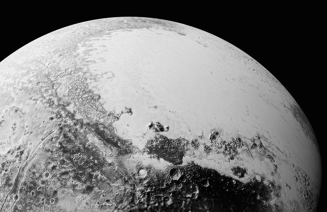 New Horizons offers a closer look at Pluto's desolate surface