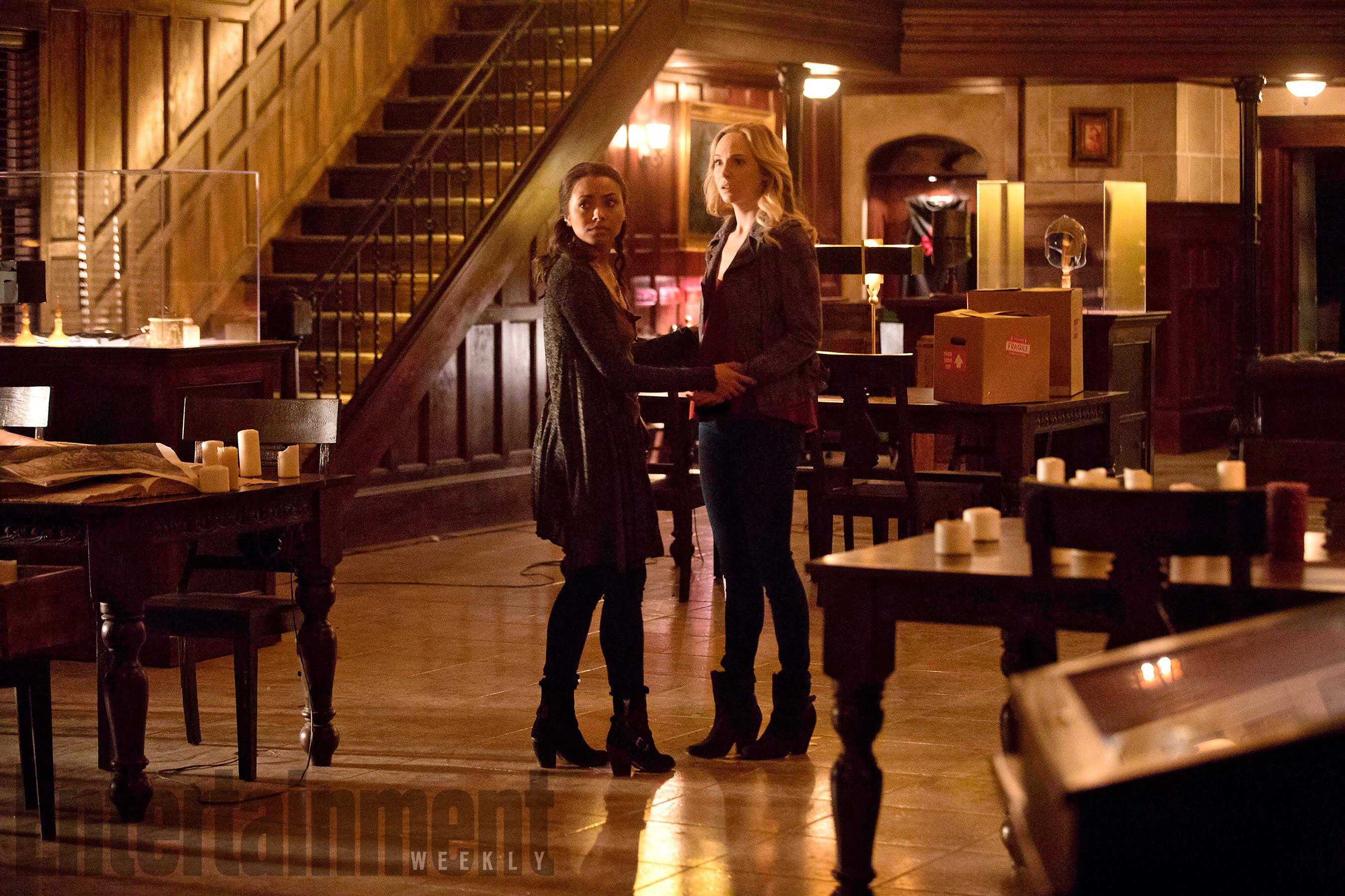 The Vampire Diaries Episode: I Was Feeling EpicSeason TK, Episode TKAir Date: Pictured (L-R): Kat Graham, Candice King