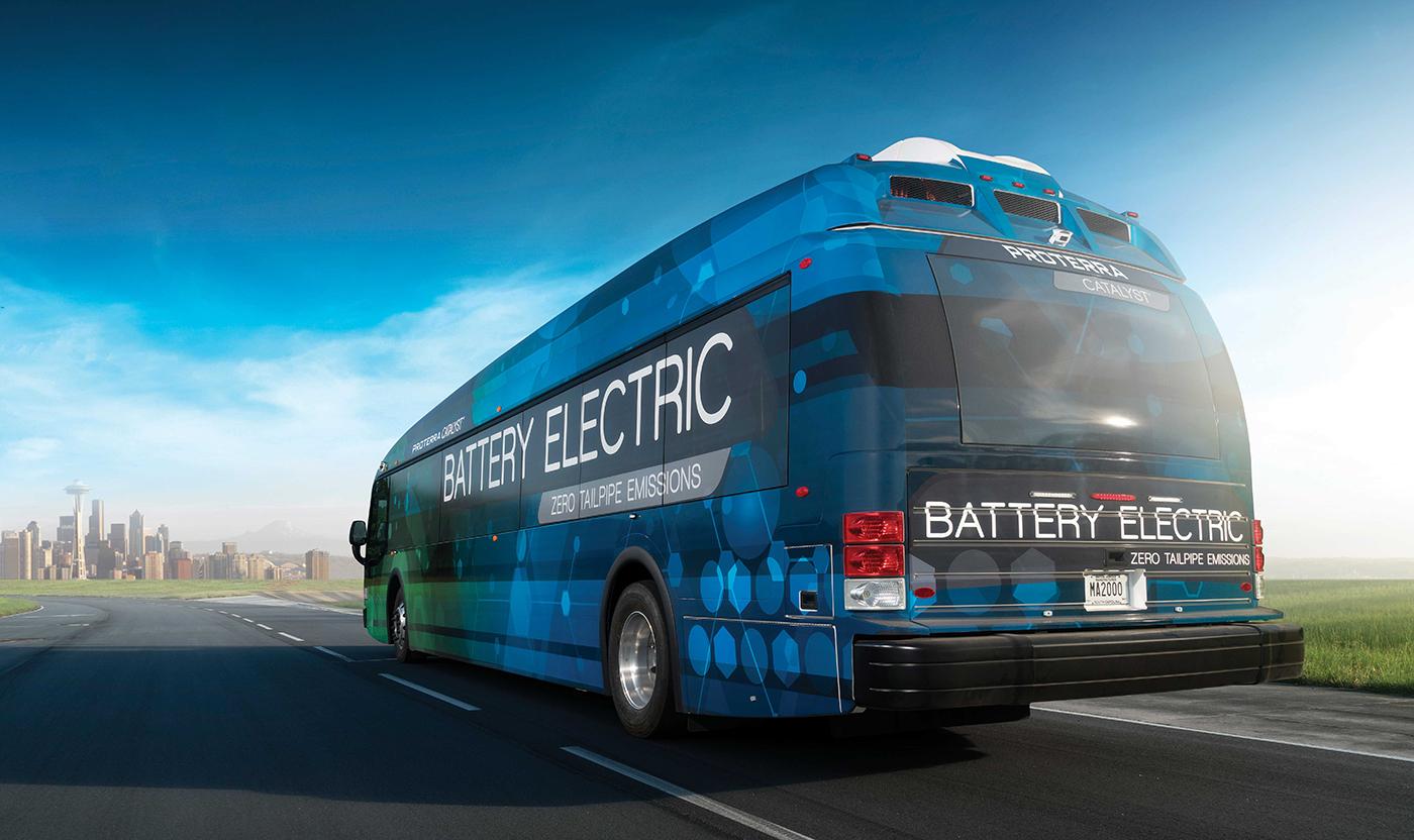 Neuer Elektrobus schafft knapp 600 Kilometer pro Akkuladung