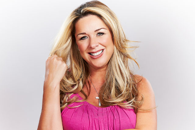 Claire Sweeney baby