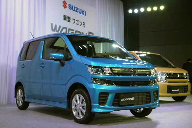 スズキ、新プラットフォームとマイルドハイブリッドを採用した新型「ワゴンR」を発表