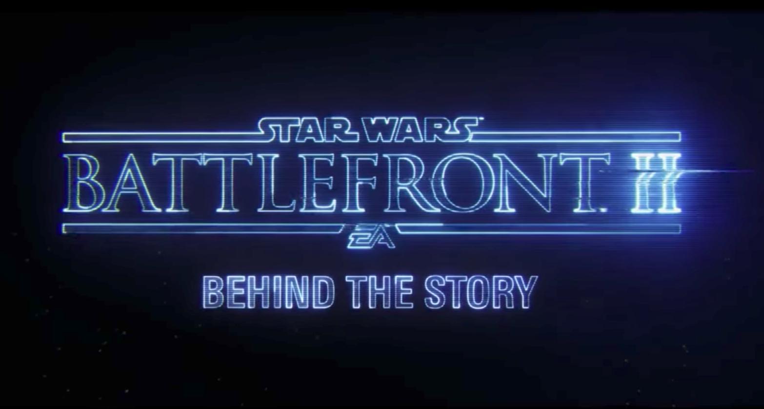 """Brandneuer Story-Trailer: """"Star Wars: Battlefront II"""""""