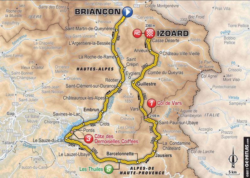 Un Français triomphe de la montagne — Tour de France