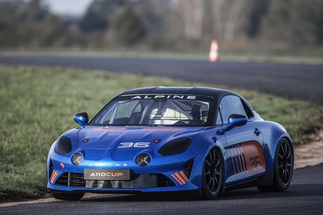 アルピーヌ、FIA公認のワンメイク・レース用車両「A110カップ」を発表! 価格は約1,320万円+レース参戦費用