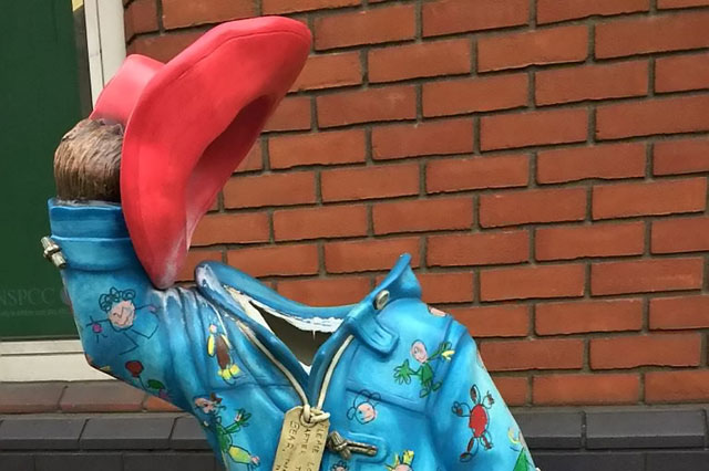 http://www.parentdish.co.uk/2014/12/23/paddington-bear-charity-statue-beheaded-by-vandals/