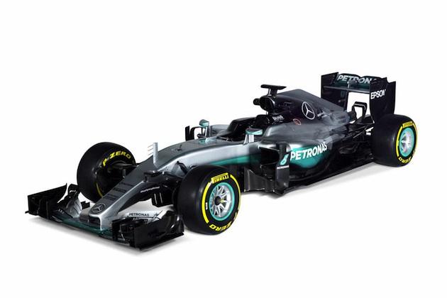 メルセデス、三連覇を狙う2016年シーズン用F1マシン「W07 ハイブリッド」を発表