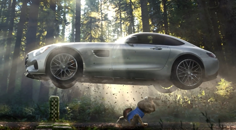 Super Bowl 2015: Witziger Mercedes-Benz TV Spot