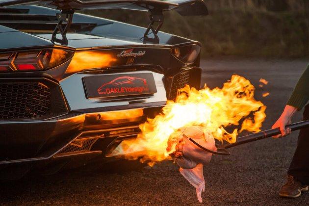 Lamborghini Aventatdor, Flammenwerfer, feuerspucker, Lamborghini, Geflügel grillen,  Lambo Grill, Abgasanlage, Sportabgasanlage, Grillen mit der Auspuffanlage, featured, viideo, funny, witzig, komisch, lustig, Thanksgiving
