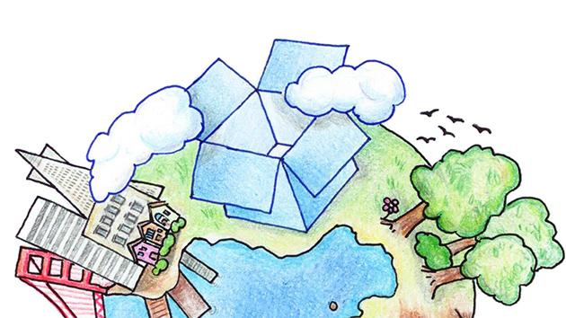 Dropbox on the Earth