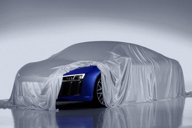 アウディ、新型「R8」に搭載された最新LEDヘッドライトを公開!