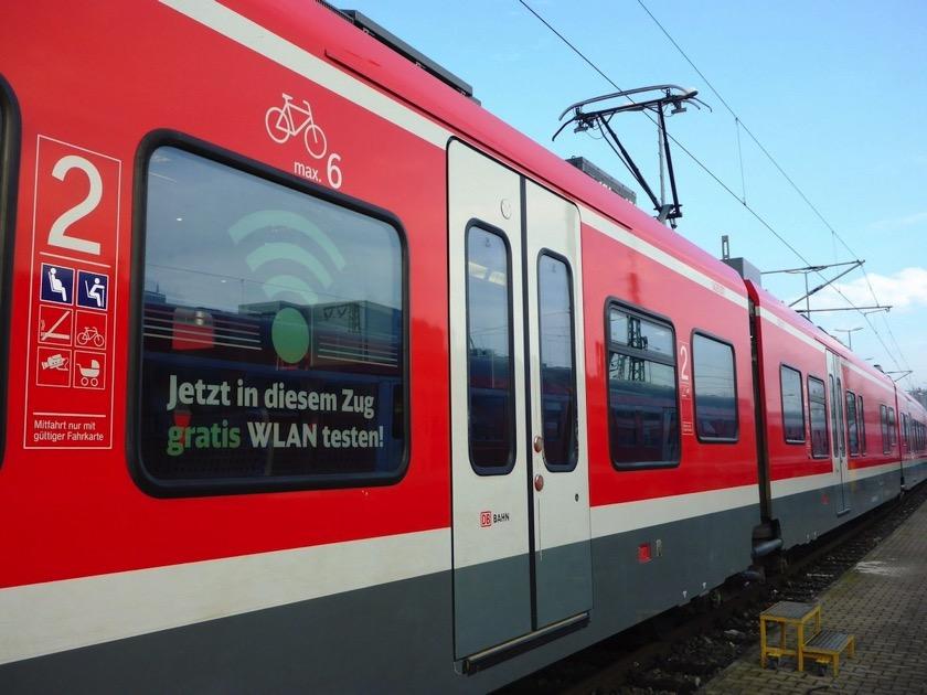 Deutsche Bahn testet Wlan in Regionalzügen