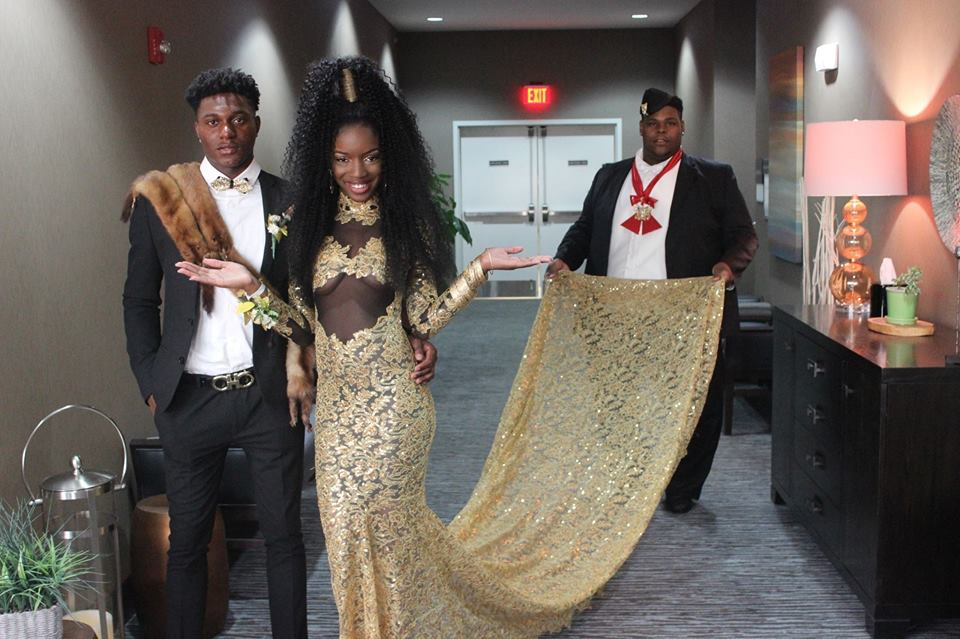 This Teen Slayed Prom With Her 39 Coming To America 39 Themed