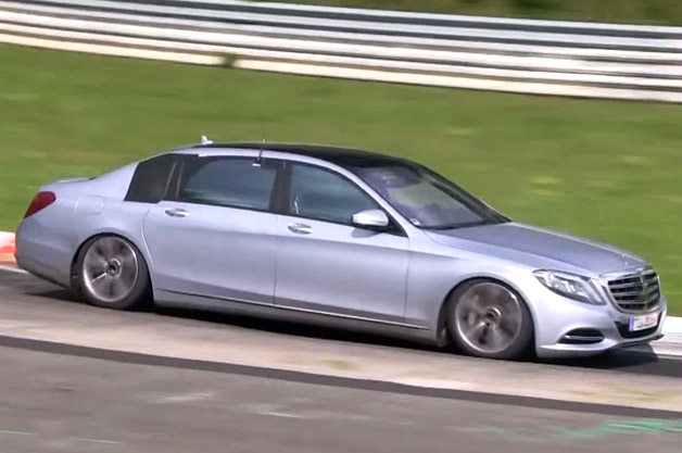 Mercedes-Benz S-Class Maybach on the Nordschleife