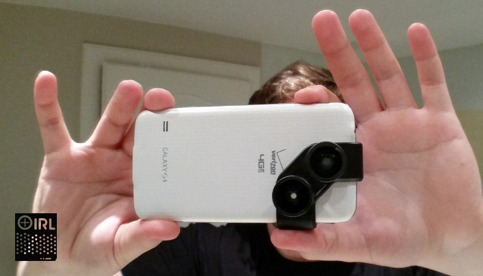 IRL: Olloclip's 4-in-1 photo lens for Galaxy S4 and S5