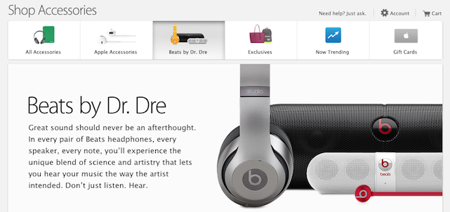 Online Apple Store Beats by Dr. Dre