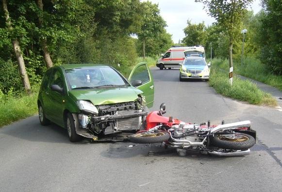 Motorradfahren ist gefährlich