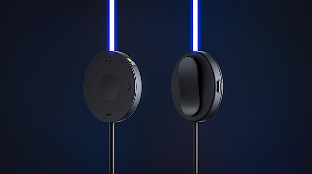 Tron-like Glow headphones pulse to the music and your heart