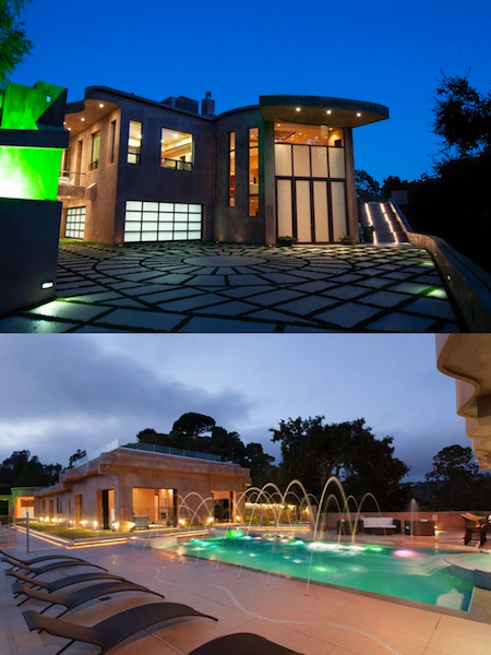 celebrity mansion that will disgust you, rihanna mansion