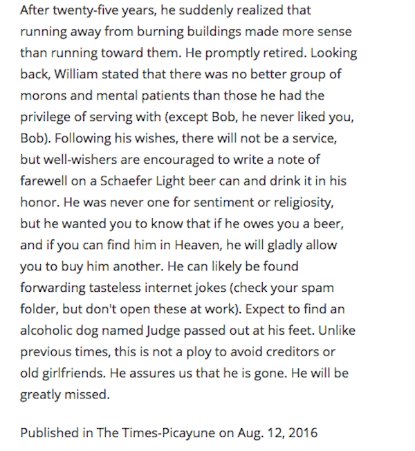 This Is The Best Way To Write An Obituary