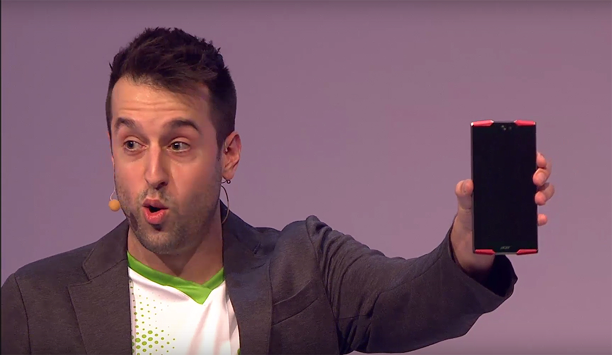 Acer has a gnarly gaming phone with a deca-core processor