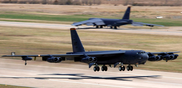 The US Air Force's oldest bomber is now a flying network