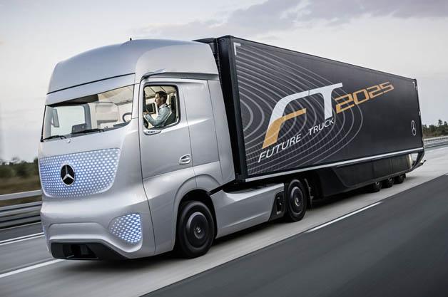 【ビデオ】メルセデス・ベンツが未来の自動運転トラックコンセプトをお披露目